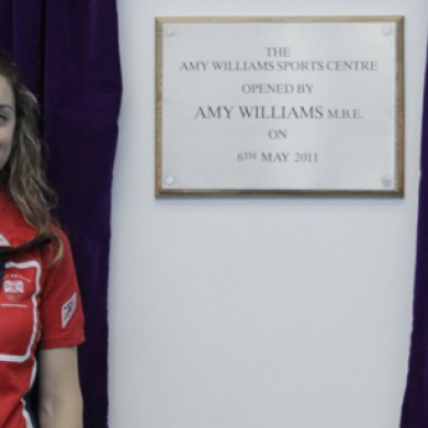 Amy Williams Sports Hall